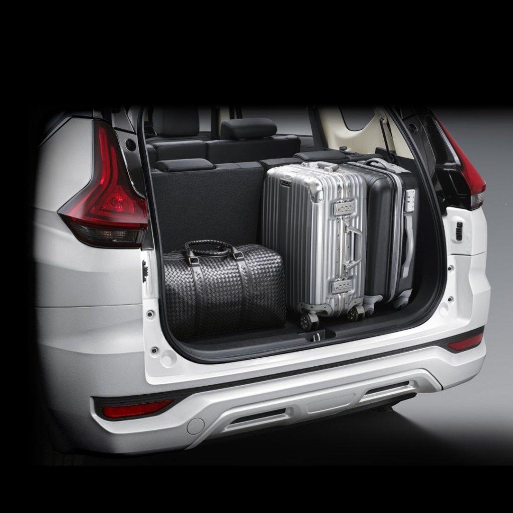 Xpander ดีไหม พื้นที่เก็บสัมภาระขนาดใหญ่ด้านท้ายรถ