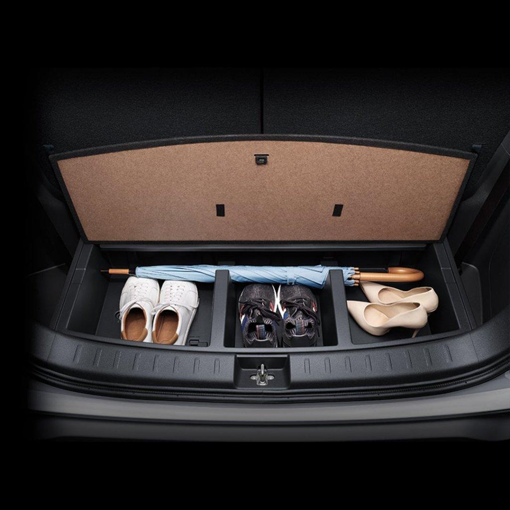 Xpander ดีไหม กล่องเก็บของใต้ห้องเก็บสัมภาระพร้อมฝาปิด